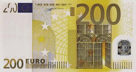 200 eur bankovka