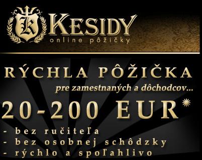 Pôžička Kesidy