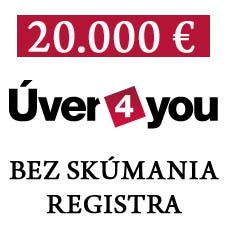 Pôžička bez registra uver4you